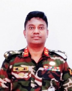 Brig Gen Md Faizur Rahman, SGP, afwc, psc and Commander,